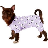 Frisco Panda Print Dog & Cat Lightweight Jersey PJs, Medium