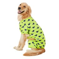 Frisco Whale Print Dog & Cat Jersey PJs, XX-Large