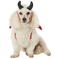 Frisco Devil Dog & Cat Costume, Small/Medium