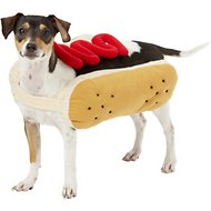 Frisco Hotdog Ketchup Dog & Cat Costume, Medium