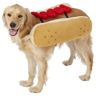 Frisco Hotdog Ketchup Dog & Cat Costume, XX-Large