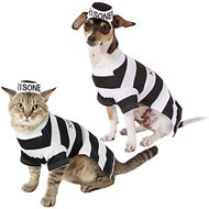 Frisco Prisoner Dog & Cat Costume, Small