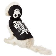 Frisco Glow in the Dark Skeleton Dog & Cat Costume, X-Small