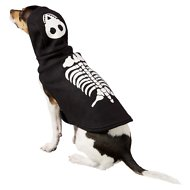 Frisco Glow in the Dark Skeleton Dog & Cat Costume, Small