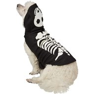 Frisco Glow in the Dark Skeleton Dog & Cat Costume, Medium