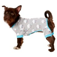 Frisco Raincloud Print Dog & Cat Lightweight Jersey PJs, Medium