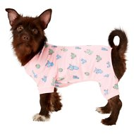 Frisco Cactus Print Dog & Cat Jersey PJs, Medium