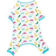 Frisco Dinosaur Print Dog & Cat Jersey PJs, X-Large