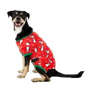 Frisco Holiday Penguins Dog & Cat Cozy Fleece PJs, Large