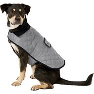 Frisco Dog & Cat Quilted Jacket, Gray, Large