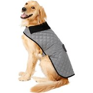 Frisco Dog & Cat Quilted Jacket, Gray, XX-Large