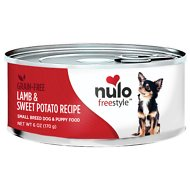 Nulo Freestyle Lamb & Sweet Potato Recipe Grain-Free Small Breed & Puppy Canned Dog Food, 6-oz, case of 24