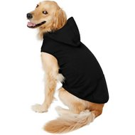 Frisco Basic Dog Hoodie, Black, XX-Large