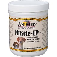 AniMed Muscle-Up Dog Supplement, 16-oz tub