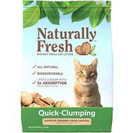 Naturally Fresh Walnut-Based Quick-Clumping Cat Litter, 26-lb bag