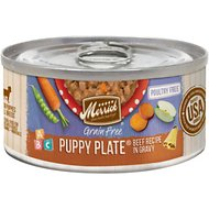 Merrick Grain-Free Puppy Plate Beef Recipe Canned Dog Food, 3-oz, case of 24