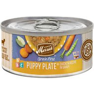 Merrick Grain-Free Puppy Plate Recipe Canned Dog Food, 3-oz, case of 24