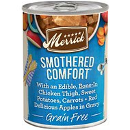 Merrick Grain-Free Smothered Comfort Canned Dog Food