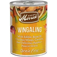 Merrick Grain-Free Wingaling Canned Dog Food, 12.7-oz case of 12