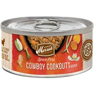 Merrick Grain-Free Cowboy Cookout Small Breed Canned Dog Food, 3-oz, case of 24