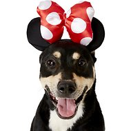 Rubie's Costume Company Minnie Mouse Ears Dog & Cat Costume, Small/Medium