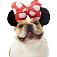 Rubie's Costume Company Minnie Mouse Ears Dog & Cat Costume, Medium/Large