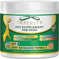 Infinite All-Natural Hip & Joint Powder Dog Supplement, 90 servings