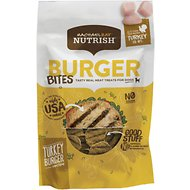 Rachael Ray Nutrish Grain-Free Turkey Burger Bites Recipe Dog Treats, 3-oz bag