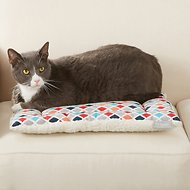 Frisco Reversible Square Cat Pad, Earthy Tone Geo Print