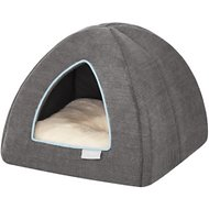 Frisco Dog & Cat Igloo Bed Cave, Gray