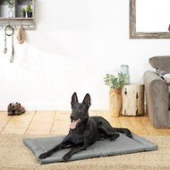 Frisco Dog Crate Mat, Dark Gray, 48-in