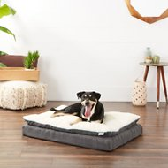 Frisco Ortho Textured Plush Pillowtop Lounger Dog Bed