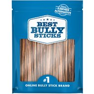 "Best Bully Sticks 6"" Gullet Sticks Dog Treats, 50 count"