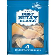 Best Bully Sticks All Natural Cow Hooves Dog Chew, 10 count