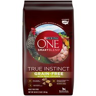 Purina ONE SmartBlend True Instinct Real Chicken & Sweet Potato Grain-Free Formula Dry Dog Food, 3-lb bag