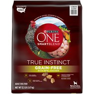 Purina ONE SmartBlend True Instinct Real Chicken & Sweet Potato Grain-Free Formula Dry Dog Food, 12.5-lb bag