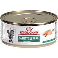 Royal Canin Veterinary Diet Satiety Support Weight Management Loaf in Sauce Canned Cat Food, 5.8-oz, case of 24