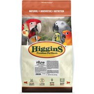 Higgins InTune Natural Conure & Cockatiel Bird Food, 18-lb bag