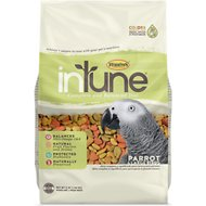 Higgins InTune Natural Parrot Bird Food, 3-lb bag