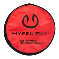 Hyper Pet Flippy Flopper Fying Disc Dog Toy, Color Varies, 9-in, 1 pack