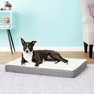 Petmaker Orthopedic Sherpa Dog Bed, Gray, Large