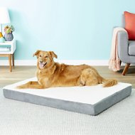 Petmaker Orthopedic Sherpa Dog Bed, Gray, X-Large