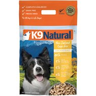K9 Natural Chicken Feast Raw Grain-Free Freeze-Dried Dog Food, 4-lb bag