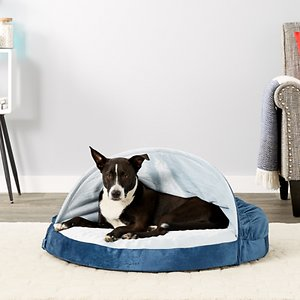 FurHaven Microvelvet Snuggery Orthopedic Dog Bed w/Removable Cover