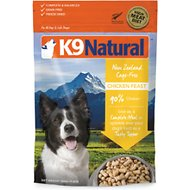 K9 Natural Chicken Feast Raw Grain-Free Freeze-Dried Dog Food, 1.1-lb bag