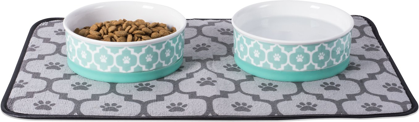 Beautiful Travel Bowl 2 In 1 Bowl Model For Dogs And Cats Fuss-dog Cat Supplies