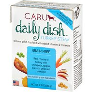 Caru Daily Dish Turkey Stew Grain-Free Wet Dog Food, 12.5-oz, case of 12