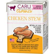 Caru Classic Chicken Stew Grain-Free Wet Cat Food, 6-oz, case of 12