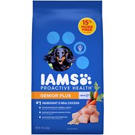 Iams ProActive Health Senior Plus Dry Dog Food, 7-lb bag