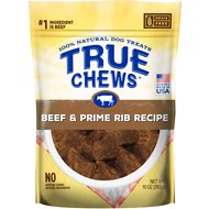 True Chews Beef and Prime Rib Recipe Dog Treats, 10-oz bag